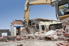 Building Demolition Stock Images