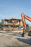 Building demolition site Royalty Free Stock Photography