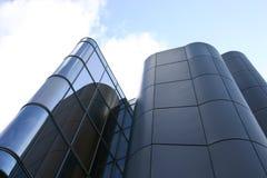 Building design. Futuristic office building stock image