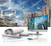 Building design Royalty Free Stock Image