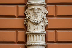 Building detail in the historic centre of Zagreb Stock Photography