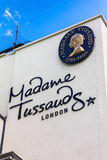 Building detail of Madame Tussauds on Marylebone Road in London Royalty Free Stock Images