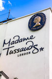 Building detail of Madame Tussauds on Marylebone Road in London Stock Image