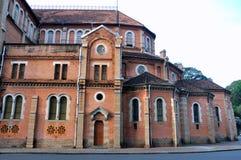 Building detail of Saigon Church, VietNam Stock Photo