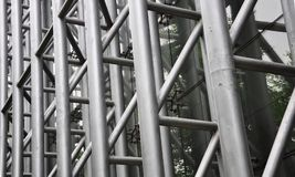 Building details. Of Steel structure Royalty Free Stock Image