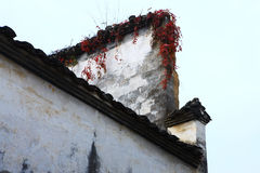 Building details in village XiCun,Wuyuan Stock Photo