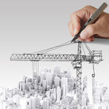 Building development concept Stock Photography