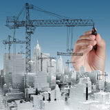 Building development concept Stock Photos