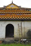 Building in Dien Tho Residence. A building within the Dien Tho Residence in the Imperial City, Hue, Vietnam Stock Image