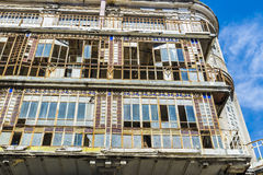 Building in disrepair. In the old town of Lisbon, Portugal Royalty Free Stock Photos