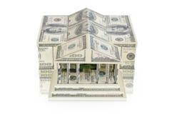 The building of dollar bills Stock Photo