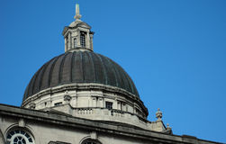 Building dome. The dome of a historic public building in the north of England Royalty Free Stock Images