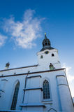 The building of the Dome Church in Tallinn Old Town Royalty Free Stock Images