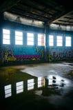 building down industrial knock make new old room ruin something Στοκ Φωτογραφίες