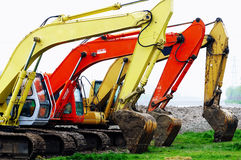 Building dredge Royalty Free Stock Images