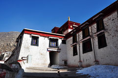 Building in Drepung Monastery Stock Photo