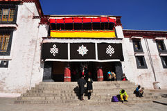 Building in Drepung Monastery Royalty Free Stock Photo