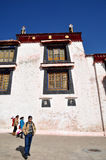 Building in Drepung Monastery Royalty Free Stock Photography
