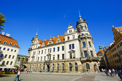 The building of The Dresden State Art Collections Stock Photo