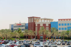 Building 9 of Dubai's Internet City, including the offices of Ca Stock Photos