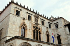 Building in dubrovnik Royalty Free Stock Photography