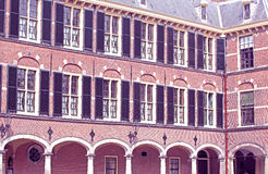 Building of dutch parliament at the city The Hague, Neherlands Royalty Free Stock Images