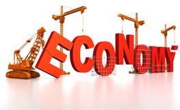 Building Economy royalty free illustration