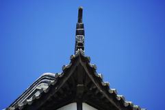 The building edge. Colse-up view Royalty Free Stock Images