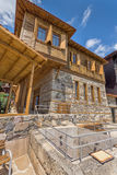 Building of eighteenth century of Ethnographic Museum in old town of Sozopol, Bulgaria Royalty Free Stock Photography