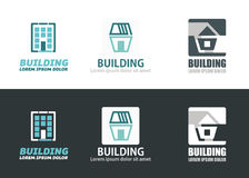 Building elements Stock Image