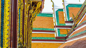 Building elements of Thai temple Royalty Free Stock Photos