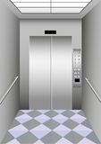 A building elevator Royalty Free Stock Image
