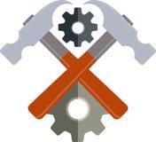 Building emblem Stock Photo