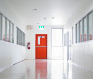 Building Emergency Exit Royalty Free Stock Images