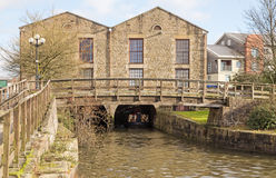 The building at the end of Wigan Pier. Stock Photos