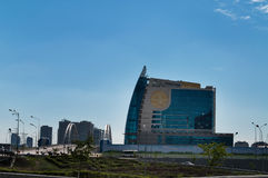 Building of Eurasian Financial Group Astana Royalty Free Stock Photo