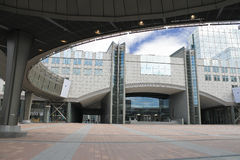 Building of the European Parliament Stock Photography