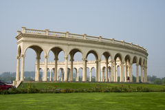 Building, even the row of arches baroque style Royalty Free Stock Image