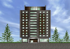 Building exterior Stock Image