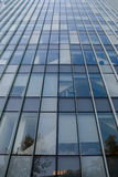 Building exterior. Glass exterior of high-rise building Stock Photography
