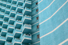 Building exterior, architectural pattern Royalty Free Stock Photo