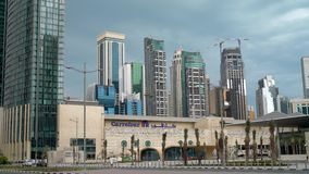 The Business Center Of Doha, Qatar Stock Footage - Video of office