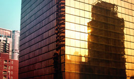 Building Exterior City Urban Office Reflection Concept Royalty Free Stock Photography
