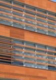 Building exterior concrete and brick construction Stock Photography