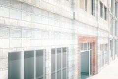 Building exterior design Stock Photos