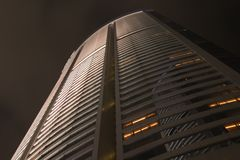Building Exterior, Night I Royalty Free Stock Photography