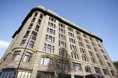 Building Exterior Victoria BC Stock Image