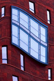 Building exterior windows Stock Images