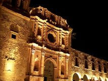Building exterior in Zacatecas Royalty Free Stock Photos