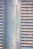 Building facade. Facade of office building in Bangkok, Thailand Royalty Free Stock Photo